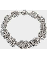 Alexander Wang - Knot Necklace - Lyst