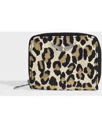 af1a95400c5e Zadig & Voltaire - Mini Zv Leo Wallet In Multicolour Calfskin - Lyst