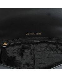 MICHAEL Michael Kors - Mott Large East-west Clutch In Black King Leather - Lyst