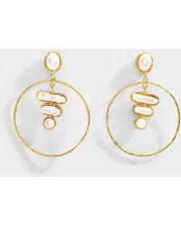 Sylvia Toledano - Baroque 3 Stones Earrings - Lyst