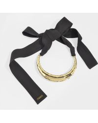 Marni - Moon Shape Adjustable Choker - Lyst