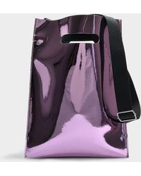 MM6 by Maison Martin Margiela - Pvc Bag In Pink Pvc - Lyst