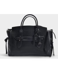 COACH - Shadow Carryall In Black Calfskin - Lyst