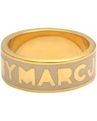 Marc By Marc Jacobs - Classic Marc Logo Ring - Lyst