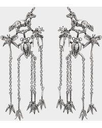 Valentino - Botanik Earings - Lyst