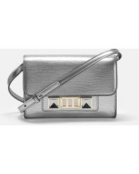 Proenza Schouler - Ps11 Wallet With Strap In Metallic New Linosa Leather - Lyst