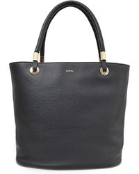 Lancel   Flore Shopper Bag   Lyst