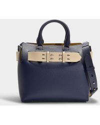 Burberry - Small Belt Bag In Antique Pink Calfskin - Lyst