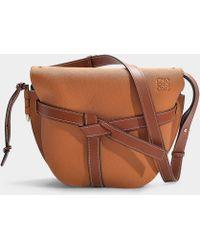 Loewe - Gate Leather Crossbody Bag - Lyst