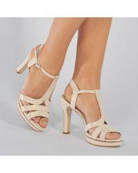 Repetto - Bikini Suede Sandals In White Suede Goatskin - Lyst