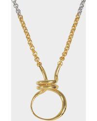 Charlotte Chesnais - Round Trip Necklace - Lyst