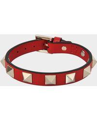 Valentino - Rockstud Small Bracelet - Lyst