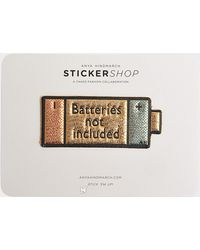 Anya Hindmarch - Batteries Not Included Sticker - Lyst