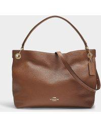COACH - Clarkson Hobo Bag In 1941 Brown Calfskin - Lyst