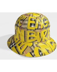 Burberry - Men's Marker Graffiti Bucket Hat - Lyst