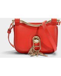 Carven Misti Crossbody Bag In Espelette Calfskin Lyst