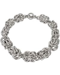 Alexander Wang - Knot Necklace - Lyst