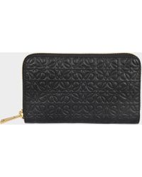 Loewe - Medium Zip Around Wallet - Lyst