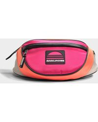 Marc Jacobs - Sport Fanny Pack Bag In Peach Polyester - Lyst