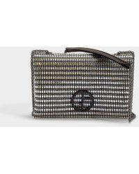 Giorgio Armani - Sling Bag In Black Cotton - Lyst 31c4efafa4660