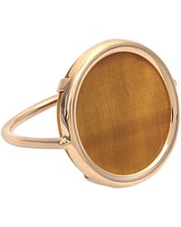 Ginette NY   Ever Tiger Eye Disc Ring   Lyst