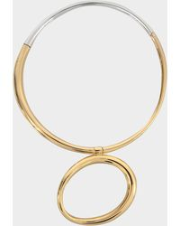 Charlotte Chesnais - Koi Necklace In Yellow Vermeil And Silver - Lyst