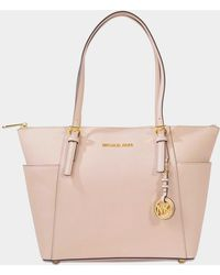 42a42635d5 MICHAEL Michael Kors - Jet Set Item East/west Top Zip Tote Bag In Soft