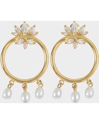 Shourouk - Loops Star Earrings - Lyst