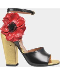 Laurence Dacade - Magic Sandal With Flower - Lyst