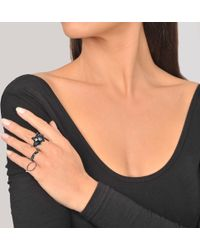 Voodoo Jewels - Magnificent Flower Ring - Lyst