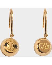 Aurelie Bidermann - Fine Jewellery - 18k Telemaque Earrings - Lyst