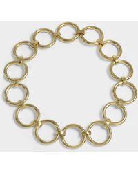 Saskia Diez - Bold Necklace In 18k Gold-plated Brass - Lyst