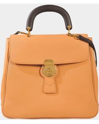 Burberry - Dk88 Top Handle Bag - Lyst
