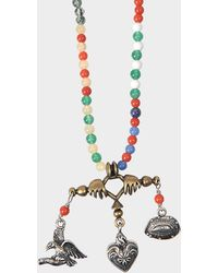 Valentino - Santeria Beads And Charms Necklace - Lyst