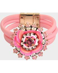 Shourouk - Bracelet Flower - Lyst