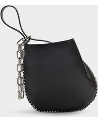 Alexander Wang - Roxy Mini Hobo Crossbody In Black Calfskin - Lyst