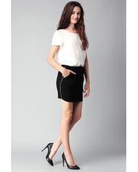 Color Block - Mini Skirt - Lyst
