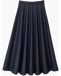 Petit Bateau - Long Skirt - Lyst