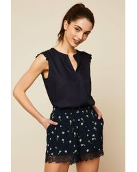 ONLY - High-waisted Short - Lyst