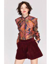 Tara Jarmon - Red Shorts - Lyst
