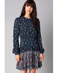 Pepe Jeans - Peggie Ditsy Print Dress - Lyst