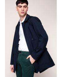 Knowledge Cotton Apparel - Pea Coat - Lyst