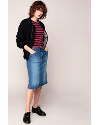Acquaverde - Denim Skirt - Lyst