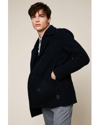 Jack & Jones - Pea Coat - Lyst