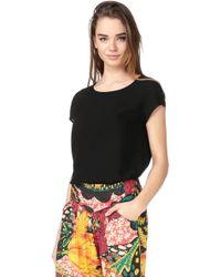 Vero Moda - Short Sleeve Top - Lyst