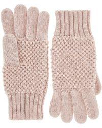 Monsoon | Nalani Knot Stitch Sparkle Gloves | Lyst