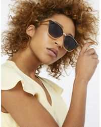 Monsoon - Mercy Metal Bridge Preppy Sunglasses - Lyst