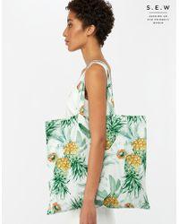 Monsoon - Polly Organic Cotton Shopper Bag - Lyst
