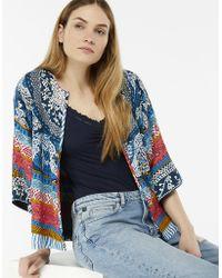 Monsoon - Lorenna Print Soft Jacket - Lyst