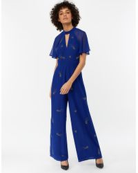 Monsoon - Tanya Shooting Star Embellished Jumpsuit - Lyst